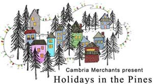 Cambria holiday in the pines
